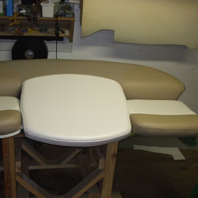seats and table redone