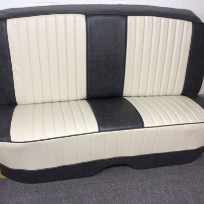 Newly upholstered Car seats