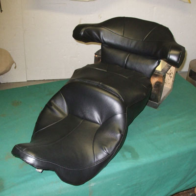 new bagger motorcycle seat