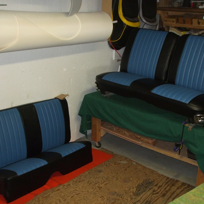 Automotive upholstery repair