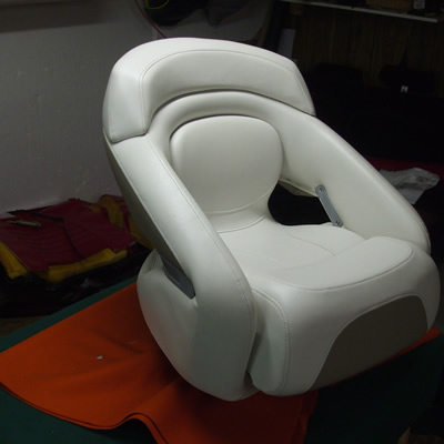 boat captain chair upholstery