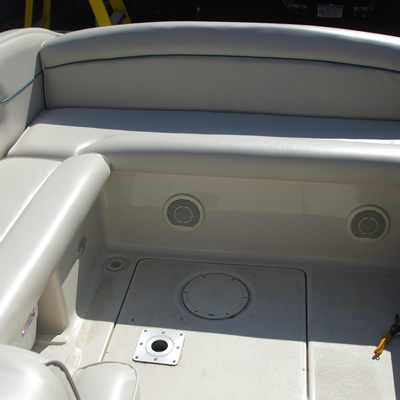 Boat inner seats and side panels