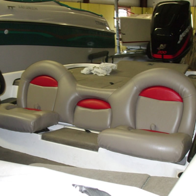 New seats for the boat