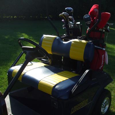 The Michigan golf cart
