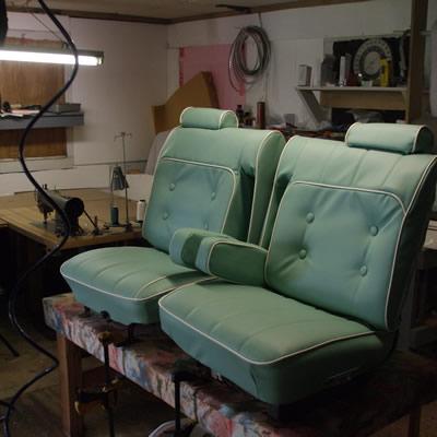 redoing rv seats