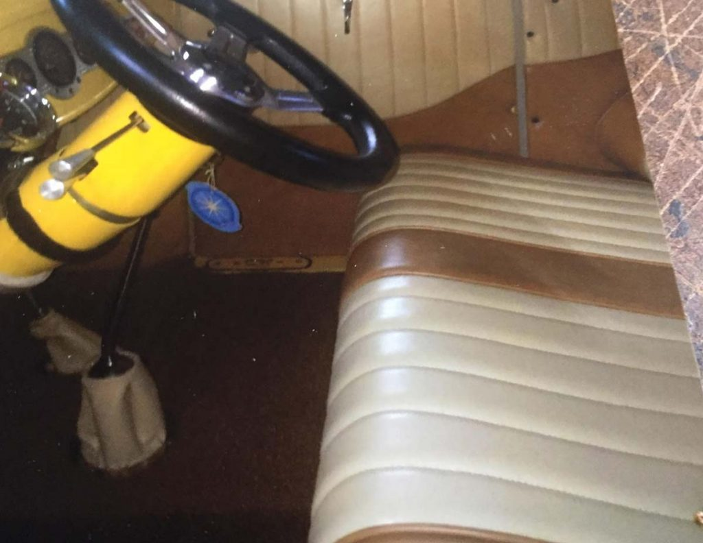 Classic Car upholstery job