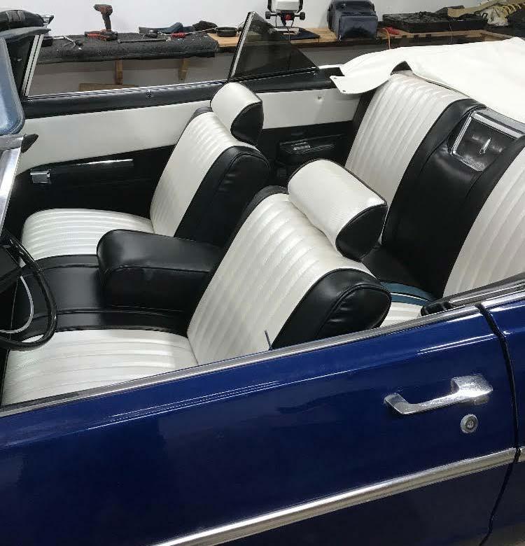 Classic Car Upholstery repair