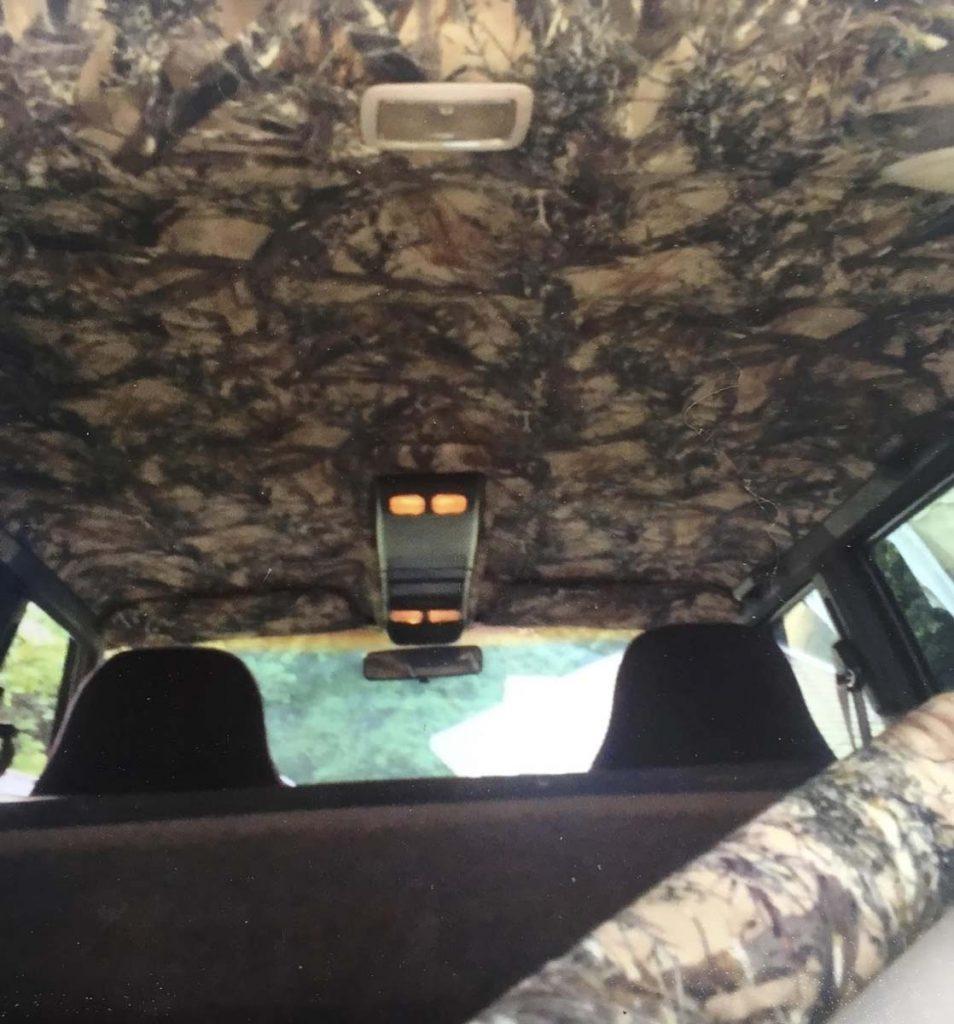 Custom camo interior