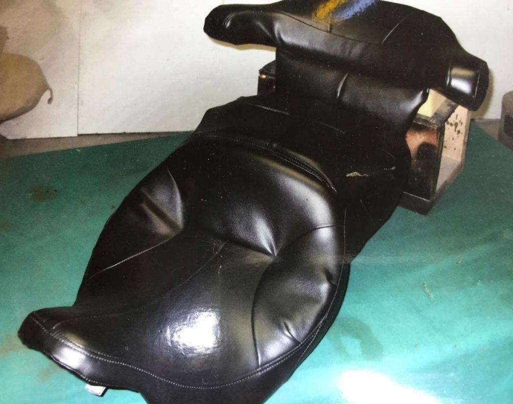 repaired bagger seat