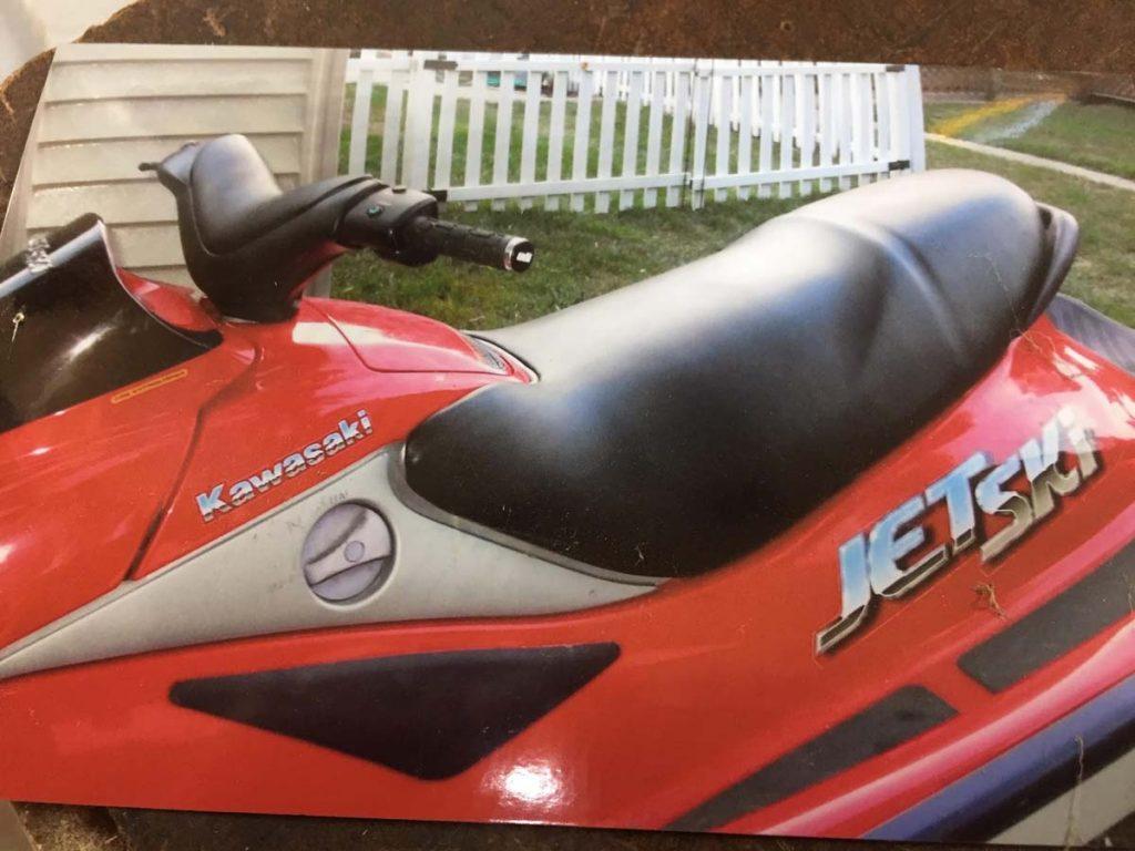 Custom jet ski upholstery